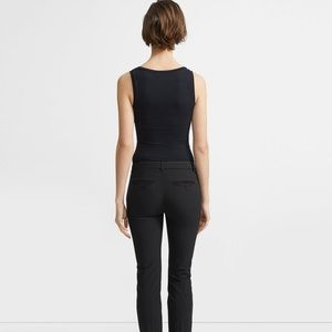 Stretch Wool Classic Crop Pants Theory